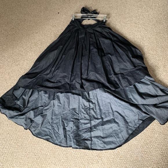 992a21e648 Hi Low denim skirt. NWT. Gracia